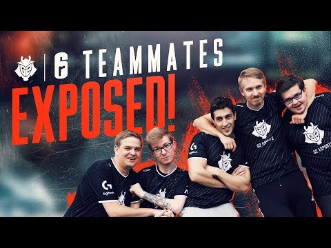TEAMMATES EXPOSED! G2 Rainbow Six Siege