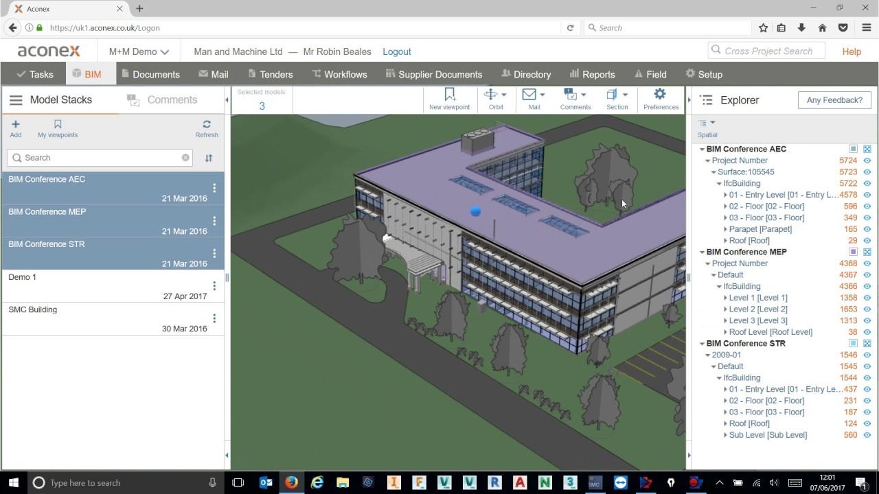 BCF with Aconex Connected BIM using Solibri Model Checker (BIM  Collaboration Format)