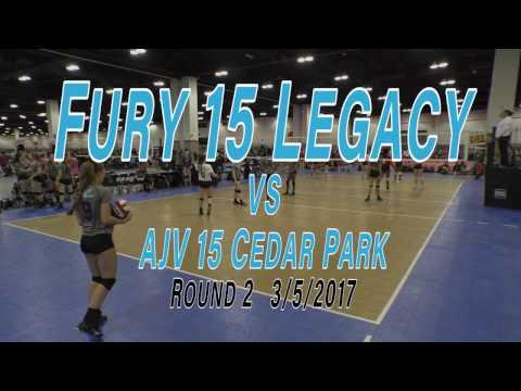 2017 Colorado Crossroads   Texas Fury 15 Legacy vs AJV 15 Cedar Park