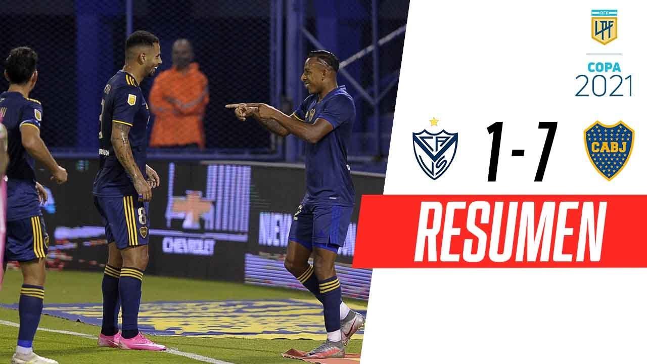 ¡PALIZA HISTÓRICA EN LINIERS! | Vélez 1-7 Boca | RESUMEN