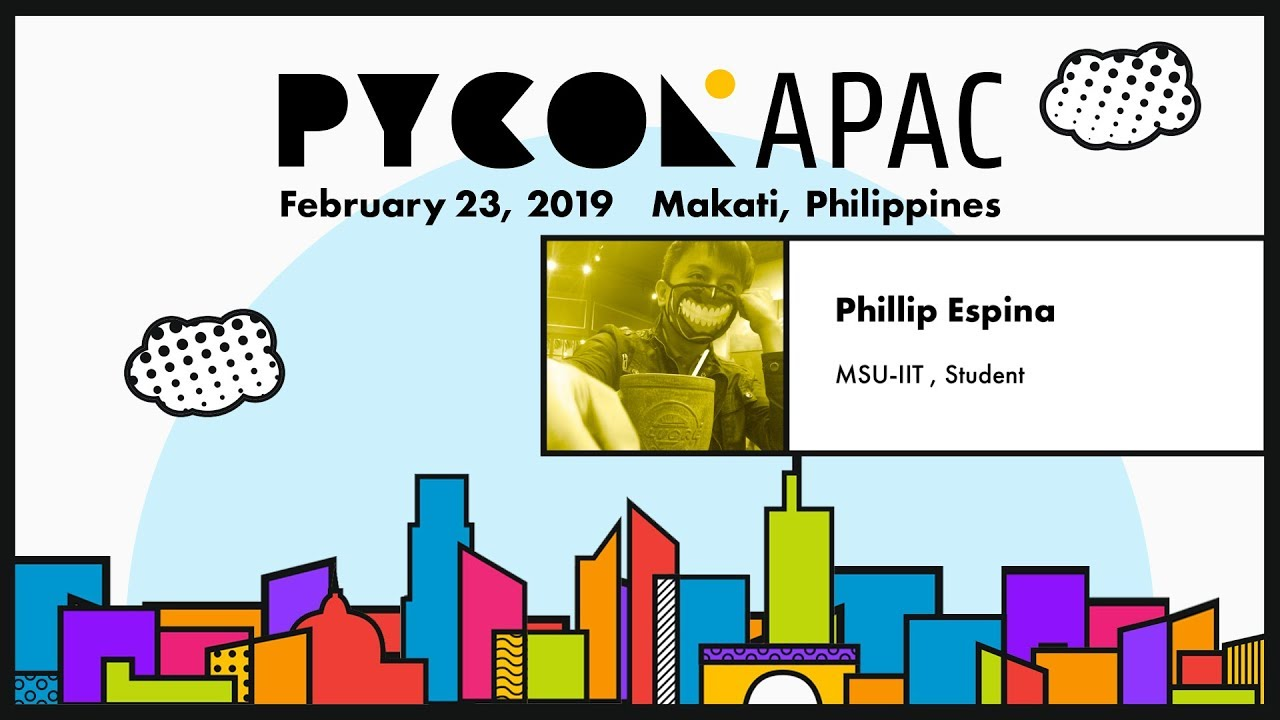 Image from PyCon APAC 2019 - Phillip Espina - Python's AI/ML for the Crypto-Industry