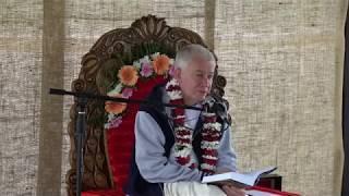 Чайтанья Чандра Чаран прабху, ретрит 2017, Святоустье Латвия, 5-й день