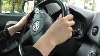 Веселый урок автовождения.