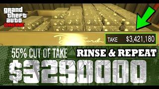 *NEW* CASINO HEIST FINAL MISSION - RINSE & REPEAT - GLITCH IN GTA 5 ONLINE (GTA V $900,000,000 EASY)