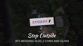 Our Ceremony Set Up - Chris and Olvia BTS Wedding Vlog Ep. 8
