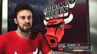 Christmas day nba 2k16 : bulls vs thunder
