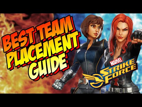 Marvel Strike Force - Position Your Team Correctly- All abou