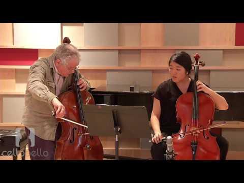 Joel Krosnick Master Class: Britten Suite No.1, Op. 72