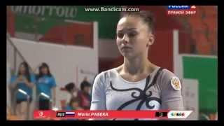 Maria Paseka (RUS) UB Qual / TF Universiade Gwangju 2015