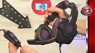 Sades SA 930 Gaming Headset Review