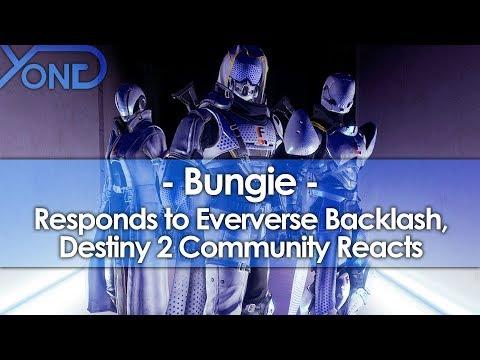 Bungie Responds to Eververse Backlash, Destiny 2 Community Reacts