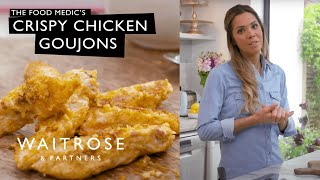 Organic Kitchen: Dr Hazel Wallace The Food Medic's Crispy Chicken Goujons | Waitrose & Partners