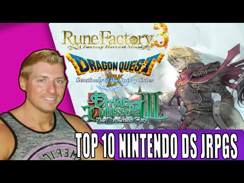 Top 10 Nintendo DS RPGs (No Ports Or Remakes)