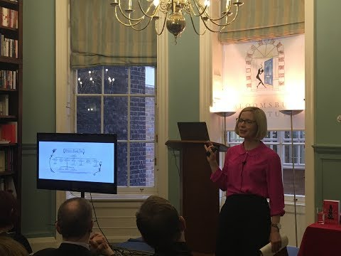 BLOOMSBURY INSTITUTE: Lucy Worsley and My Name is Victoria clip