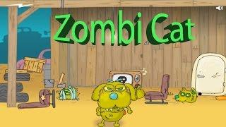 Играем в Коты Зомби  против Собак ZOMBI CAT game