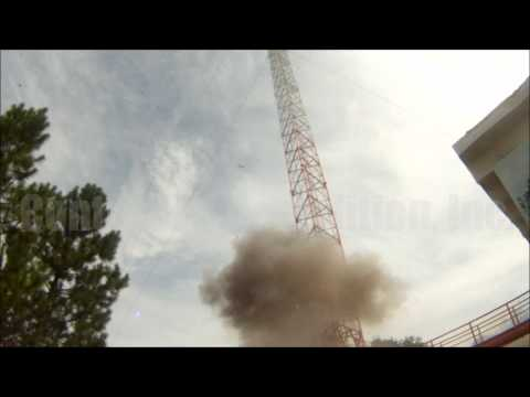 WECT (Raycom) Television Tower - NEW WORLD RECORD! - Controlled Demolition, Inc