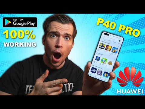 Huawei P40 / P40 Pro - How To Install Google Apps And Google Play Store 2020 ! 100% Working!