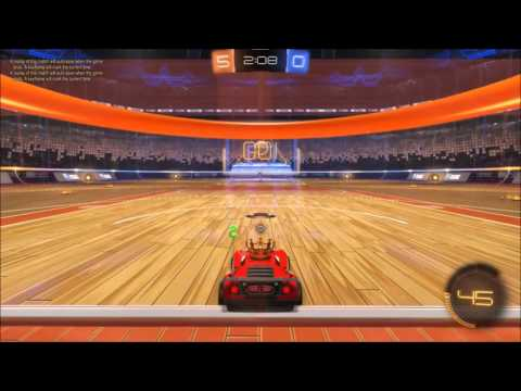 Rocket League Hoops Mode and Cosmic Map Gameplay