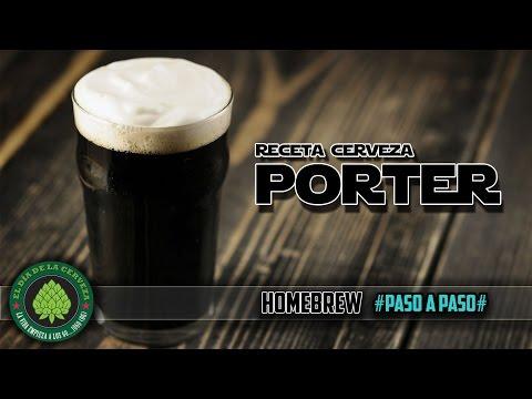 Cómo hacer Cerveza Artesanal en Casa. RECETA CERVEZA PORTER