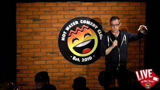 Mike Osborne LIVE at Hot Water Comedy Club