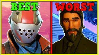 TOP 10 GUY SKINS IN FORTNITE! (Fortnite Battle Royale!)