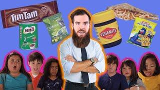 American Kids HATE Australian Food (Aussie Reacts)