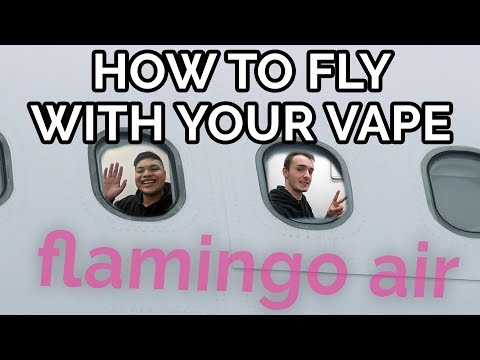 How To FLY INTERNATIONALLY With Your VAPE!! | You Can Bring WHAT On A PLANE?!