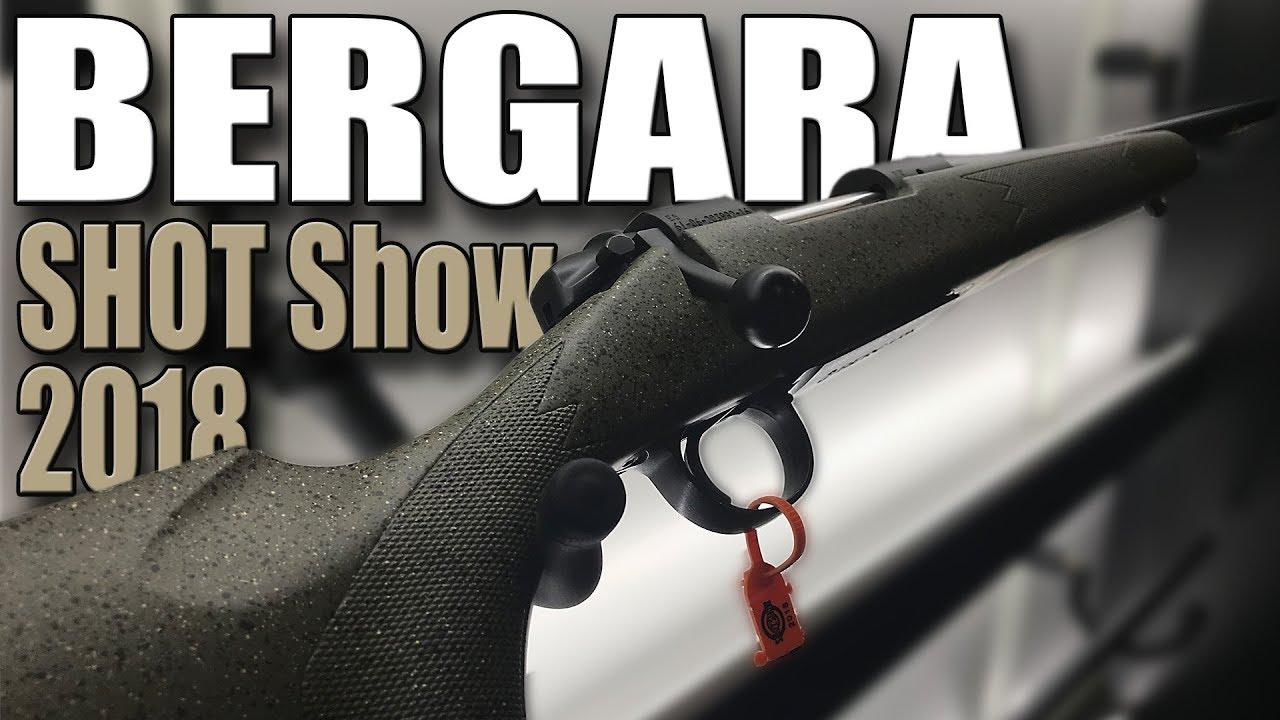 Bergara rifles - B14 Hunter - Rifles for Hunters - Shot Show (2018)