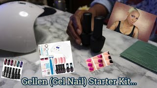 """Hey Ya'll, So this video is a little different because I'm doing my nails in it. I recently ordered the """"Gellen Gel Nail Starter Kit"""" and I'm doing my initial unboxing ..."""