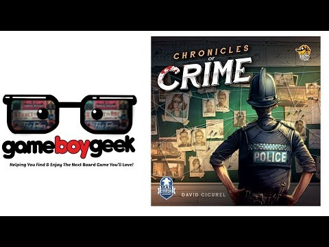 Chronicles of Crime Review with the Game Boy geek