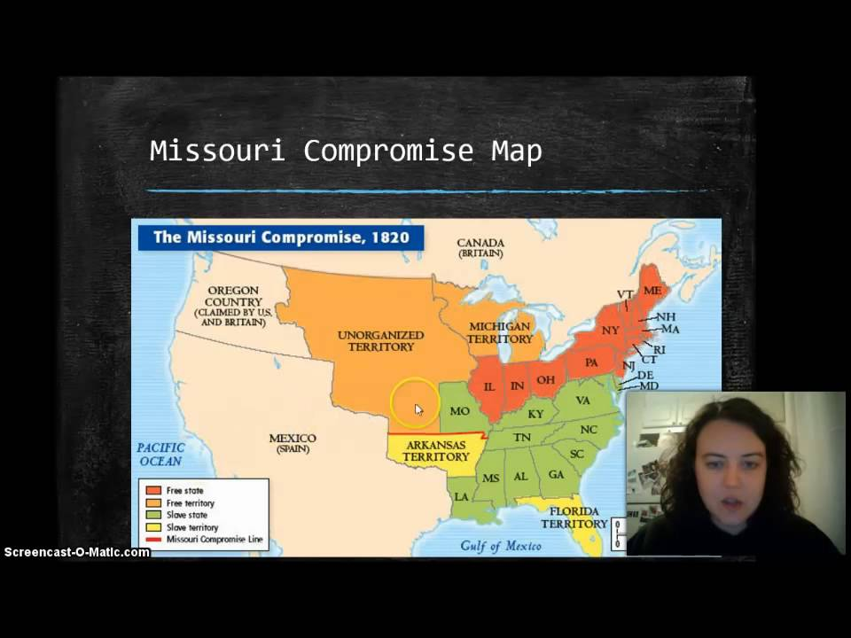 free vs slave states and compromises us history 1