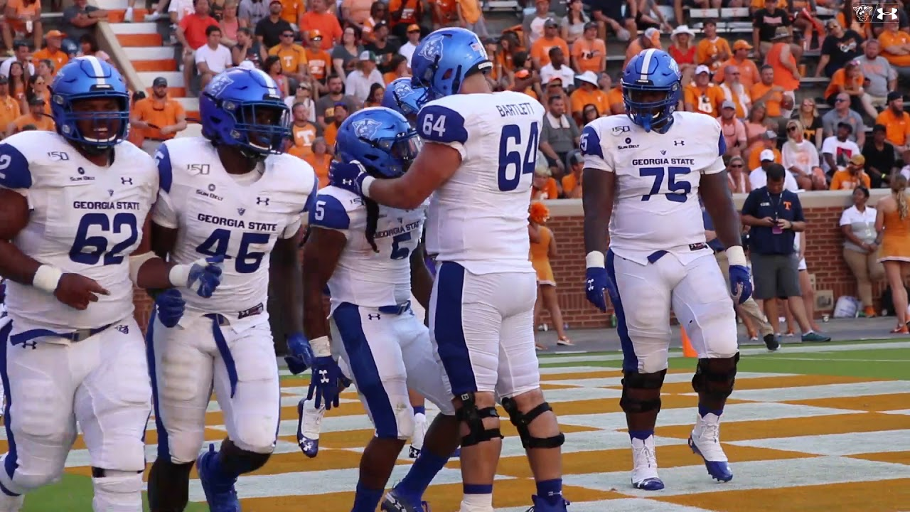 GSU FB: Highlights from the Panthers 38-30 Win at Tennesseee