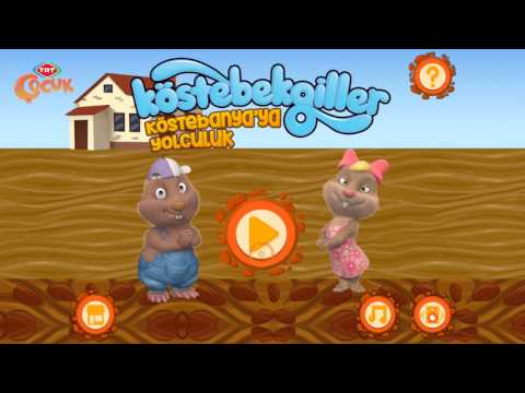 TRT Çocuk - Köstebekgiller  Oyun İncelemesi
