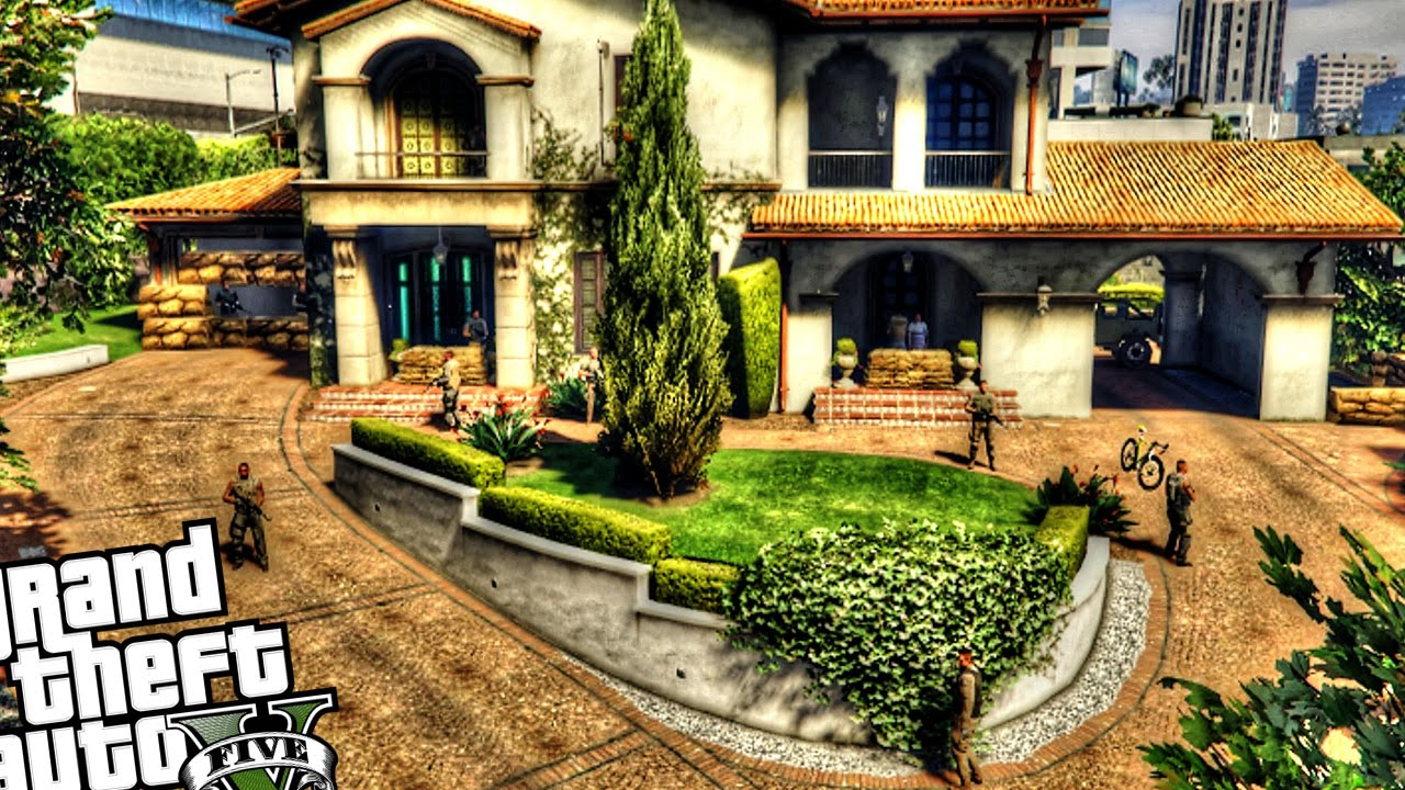 Hostage In Michael 39 S House Gta 5 Pc Youtube