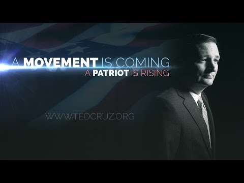 """A Movement is Coming"" TED CRUZ trailer"