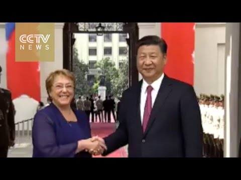 Chile holds grand ceremony to welcome President Xi