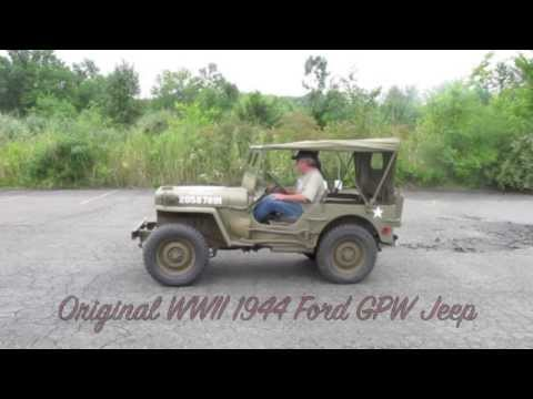 Original WWII 1944 FORD GPW- Offered for sale at ima-usa.com