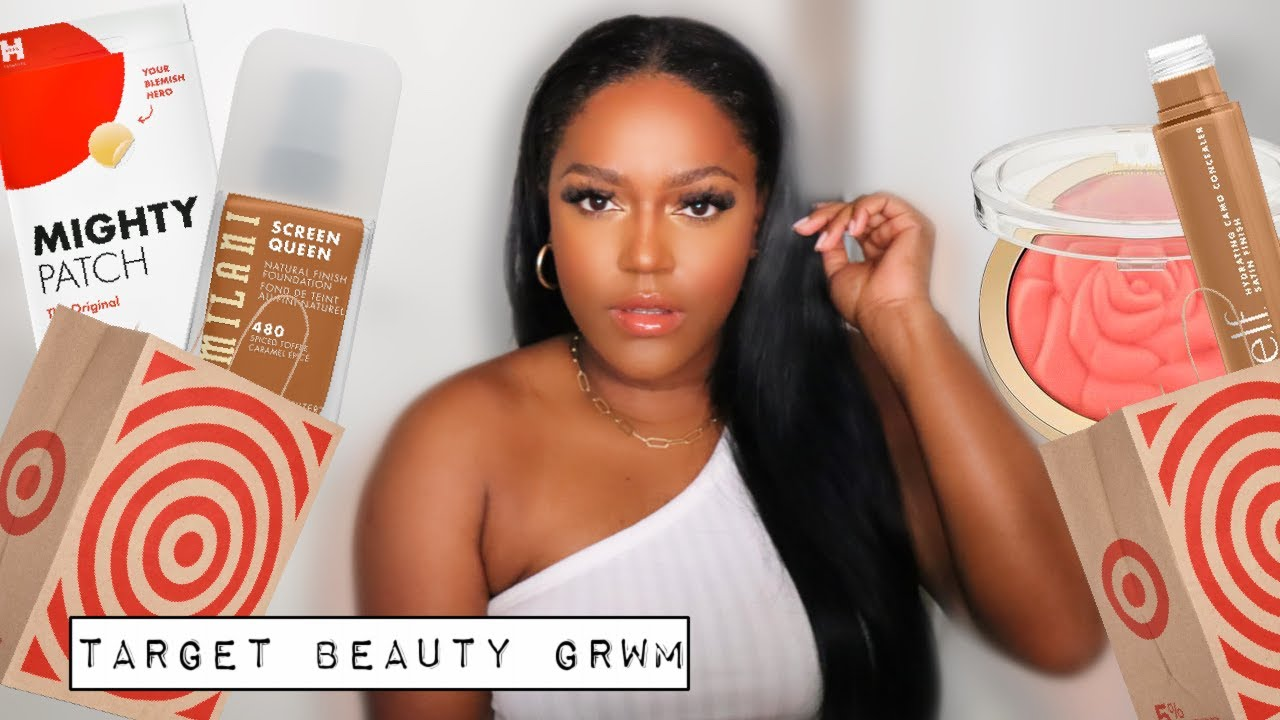 Target Beauty & Self Care GRWM |  Jasmine Airdelle