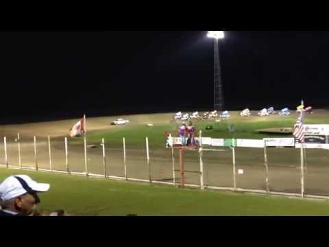 2014 Midwest Mods and NOSA Sprints from Devils Lake Speedway