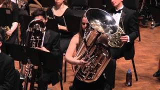 UMich Symphony Band -Michael Daugherty - Reflections on the Mississippi for Tuba and Symphonic Band