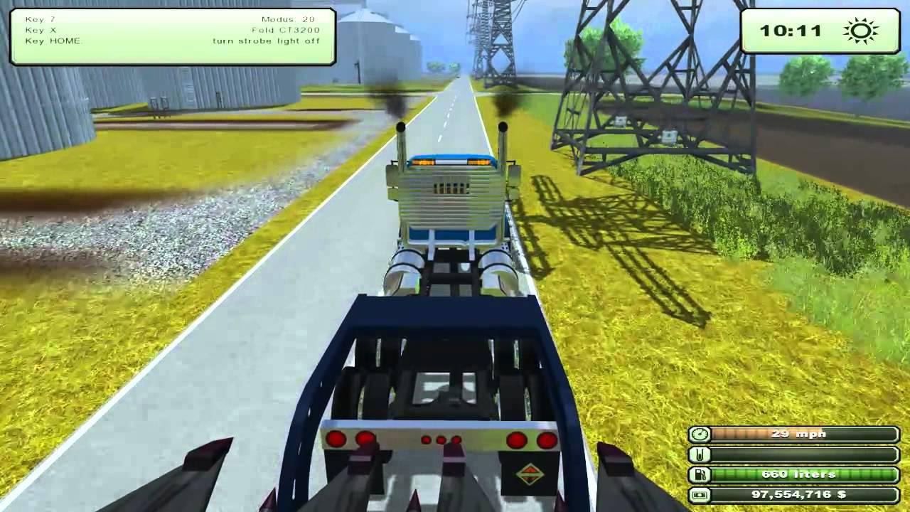 Map Usa Farming Simulator 2013%0A Let u    s Play  Farming Simulator       Part One  Moving American equipment   YouTube