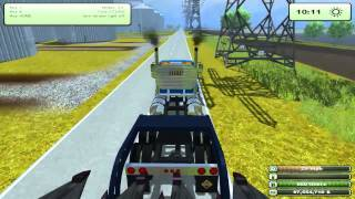 Let's Play - Farming Simulator 2013 - Part One, Moving American equipment(Like and comment thank you http://www.modbox.us/farming-simulator-2013-mods/2224-cat-lexion-590r-and-580r-v20.html Check these sites out!, 2013-07-14T19:08:19.000Z)