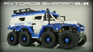 8x8 LEGO Technic Avtoros Shaman with Sbrick. Madoca's MOST EPIC creation.