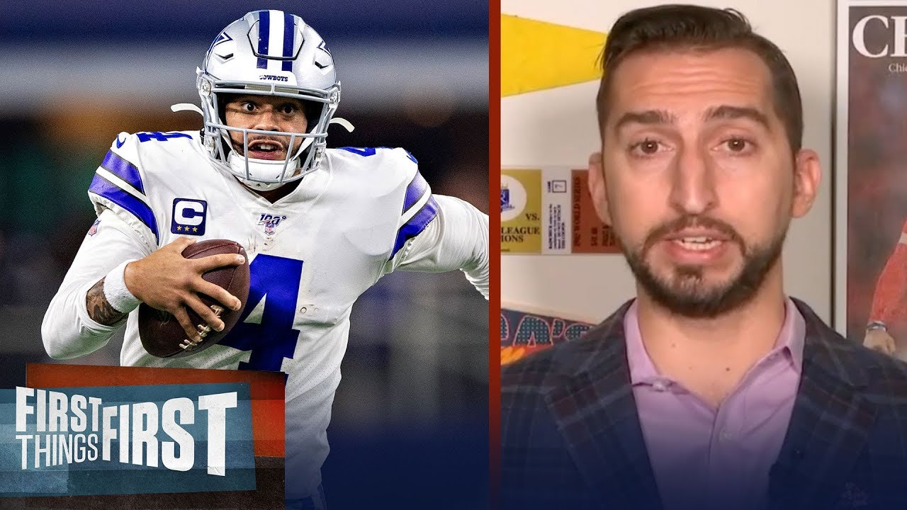 Cowboys have a history of highly paid players. Why not Dak? — Nick Wright | NFL | FIRST THINGS FIRST