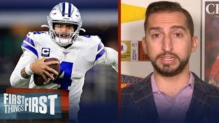 Cowboys have a history of highly paid players. Why not Dak? - Nick Wright | NFL | FIRST THINGS FIRST