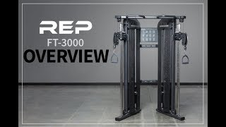Rep Ft-3000 Victory Functional Trainer