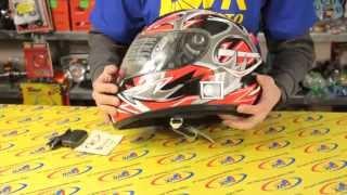 Мотошлем с встроенной стерео блютуз гарнитурой(Видео обзор мотошлема с встроенной стерео блютуз гарнитурой. ТМ DVKmoto американский стандарт DOT. Посмотреть..., 2015-04-11T09:50:19.000Z)