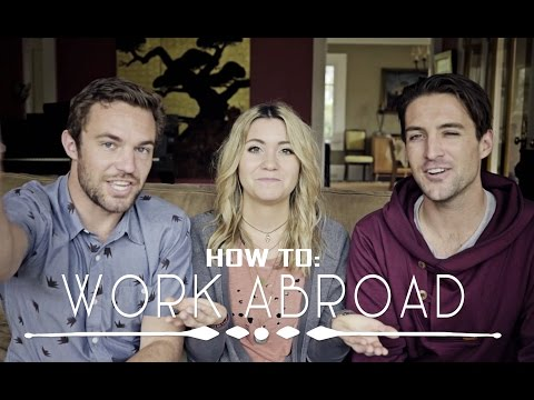 HOW TO WORK ABROAD||feat. Vagabrothers