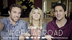 HOW TO WORK ABROAD  ||  feat. Vagabrothers