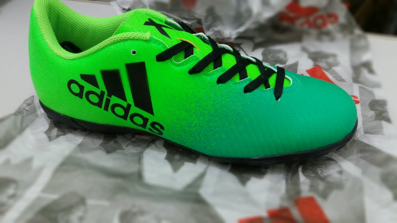 Unboxing chuteira society Adidas x 16 4 TF - YouTube 712c35878bc1d